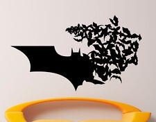 Batman Wall Vinyl Decal Comics Superhero Sticker Removable Home Decor (12jbat)