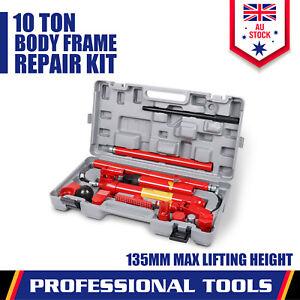 10T Porta Power Kit Hydraulic Panel Beating Car Body Dent Frame Repair Tool New