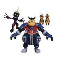 Kingdom Hearts Select Series 2 Soldier, Pete, Chip & Dale Action Figure Set