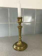 """Vintage FRENCH BRASS candle stick 9"""" tall"""