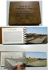 ROMA COME ERA E COME è guida con ricostruzioni_ STRACCIOLI_ edizioni VISION 1962