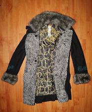 Manteau fourré DESIGUAL taille S (36) noir