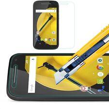Crystal Tempered Glass Film LCD Screen Protector Motorola E2 Moto E 2nd Gen