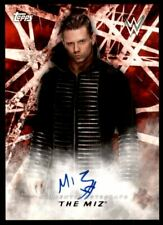 2018 Topps WWE Road to Wrestlemania Autographs #ATM The Miz