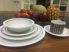 vintage ARZBERG made in Germany DELPHI 6 piece place setting