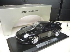 1:18 NOREV PORSCHE 911 997 gt2 Nero Black Dealer Edition NUOVO NEW