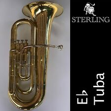 STERLING Eb Tuba SWTB-239  • Excellent Quality • Brand New • With Case •