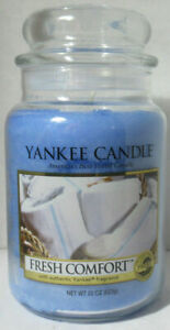 Yankee Candle Large Jar Candle 110-150 hrs 22 oz  FRESH COMFORT