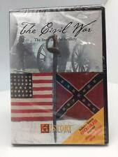 The Civil War The Story and the Artillery History Channel DVD- NEW