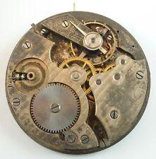 Partial CH.F. Tissot & Fils Pocket Watch Movement - High Quality Swiss