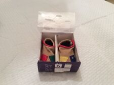 EUC Goody Goody Train Infant Boys Soft Sole/ Crib Shoes  Style 99551 Size 0-6 M