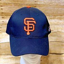 San Francisco Giants Snapback Hat Vintage Black MLB Baseball Outdoor Cap OS