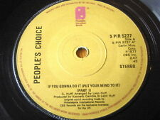 """PEOPLE'S CHOICE - IF YOU GONNA DO IT (PUT YOUR MIND TO IT)  7"""" VINYL"""