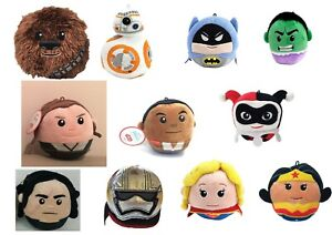 NWT HALLMARK Fluffballs Plush Ornament Stuffed Star Wars Marvel DC Comics PICK!