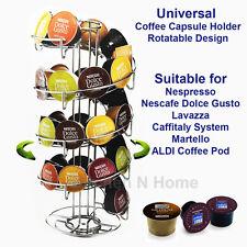 Universal Coffee Capsule Holder for Dolce Gusto,Nespresso,Lavazza,Caffitaly,ALDI