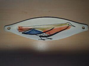 Vide-poche,Navette en céramique signé Capron Vallauris,Design,Vintage