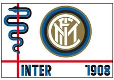 Bandiera Stadio Fc Internazionale Piccola 70x40 cm Gadget Inter PS 03645