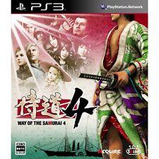 PS3 Samuraidou Way of the Samurai 4 Japan Import Game F/S J5205