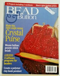 Bead and Button magazine, 1997-2017, $2.50 each,choose issues beading, jewelry