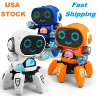 Electric Octopus, Dancing Robot, Six-claw, Music, LED Light, for Boys and Girls