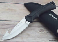"BUCK ""BUCKLITE MAX"" FIXED BLADE HUNTING SURVIVAL KNIFE RAZOR SHARP MADE IN USA"