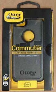 OtterBox Commuter Series iPhone 6/6s/7/8/SE 2020 Black Slim Drop Rugged