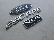 05-06 Ford Escape Xlt Trunk Emblem YL84-78433500-AB Logo Ornament Trim Decal set