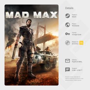 Mad Max (PC) - Steam Key [GLOBAL]