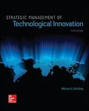 Strategic Management of Technological Innovation 5th Edition by Schilling, M.