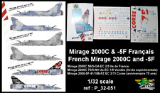 [FFSMC Productions] Decals 1/32 Mirage 2000C et -5F Français (ref P_32-051)
