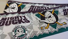 Anaheim Mighty Ducks NHL Wallpaper Border Hockey League Room Decor