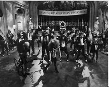 CHRISTOPHER BIGGINS signed ROCKY HORROR PICTURE SHOW 8x10 uacc rd coa TIME WARP