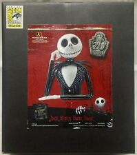 Nightmare Before Christmas : Jack Resin Bust statue Coin Bank  SDCC 2013