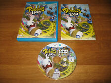 Nintendo Wii U game - Rabbids Land (complete PAL) great condition