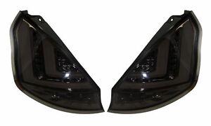 FORD FIESTA Mk7 Facelift (2013-) SMOKED LED LIGHT BAR REAR TAIL LIGHTS
