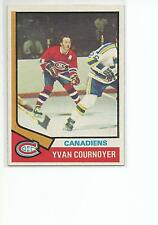 YVAN COURNOYER 1974-75 Topps card #140 Montreal Canadiens EX+/NR MT