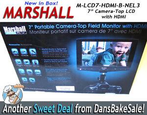"Marshall Electronics M-LCD7-HDMI-B-NEL3 7"" Portable On-Camera Field Monitor"