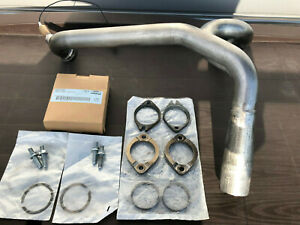 2007 Buell XB9SX exhaust header with new mounting hardware
