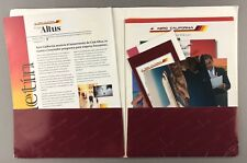AERO CALIFORNIA INFO FOLDER - BROCHURES DOUGLAS DC-9 PHOTO
