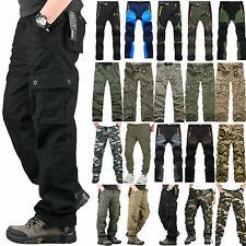 Мужские Открытый грузовой ходьбы грузовой боя работы брюки военного армии повседневные штаны