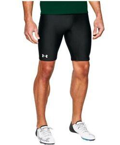 Under Armour HeatGear Adult Men's Track Compression Shorts Black 1287840 Size M