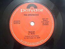"THE SPOTNICKS telstar/israeli dance hava nagilah RARE SINGLE 7"" 45 INDIA VG+"