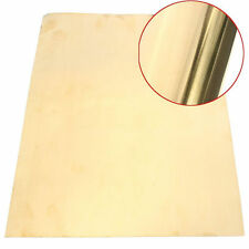 1PC Brass Metal Thin Sheet Foil Plate Shim 0.2mm Thick  0.2mm x 200mm x 300mm