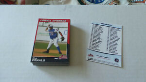 2004 Choice Lowell Spinners red sox A affiliate complete team set /37  SANCHEZ