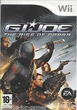 G.I. JOE THE RISE OF COBRA for Nintendo Wii - with box - PAL