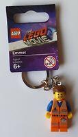 Lego Emmet Keychain/Keyring - The Lego Movie 2 853867 (Retired)