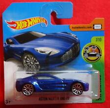 Aston Martin One-77 - 2015 - Hot Wheels - Exotics Card