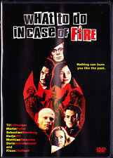 What To Do In Case of Fire? (DVD, 2002) New