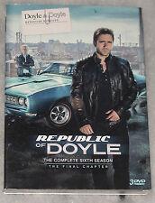 Republic of Doyle COMPLET SAISON 6 SIX - DVD Coffret - NOUVEAU & scellé