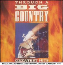 Big Country - Very Best Greatest Hits Collection - RARE 1996 CD - 80's Rock Pop